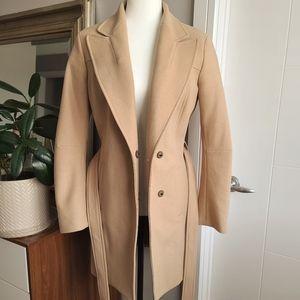 See by Chloe tan wool coat - like new